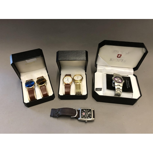 16 - Cased Watches and Another...