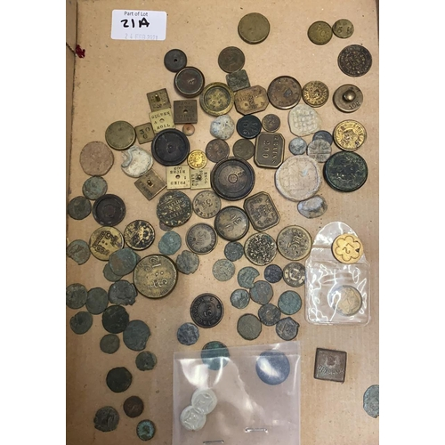 21A - Coins, Weights, Roman Coins etc...
