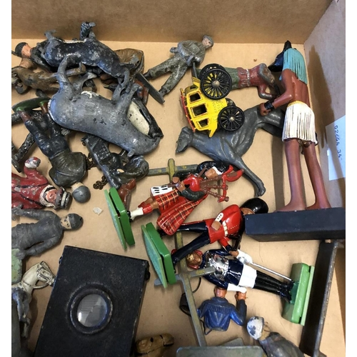 24 - Mixed Lot of Assorted Lead Figures, Animals etc...