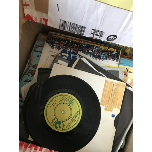 407 - Two Boxes of Assorted 1960's & 70's 45's...