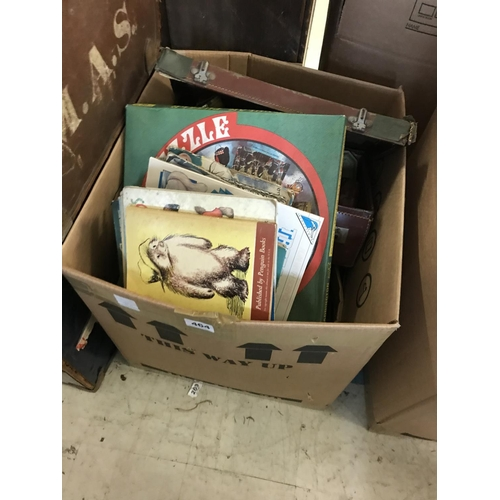 464 - Box of Vintage Toys and Games...