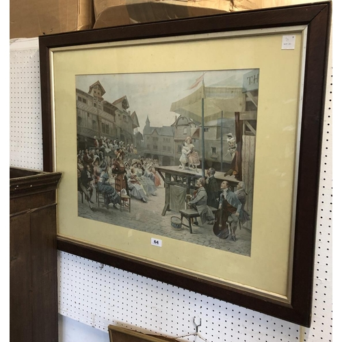 64 - Large Pair of Framed Prints, After Alonso-Perez, 50 x 62cm...
