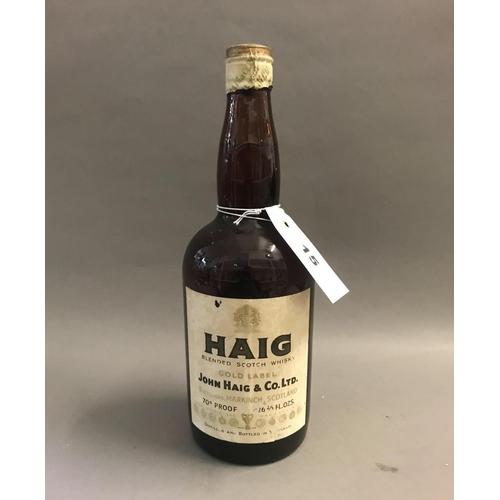 15 - Bottle of Vintage Haig Gold Label