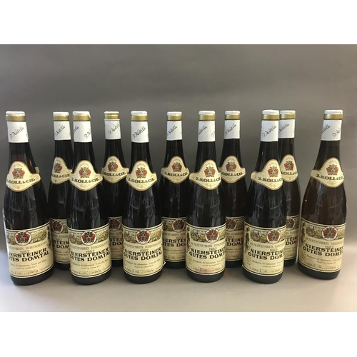 24 - Case of Twelve Bottles of Niersteiner German Wine