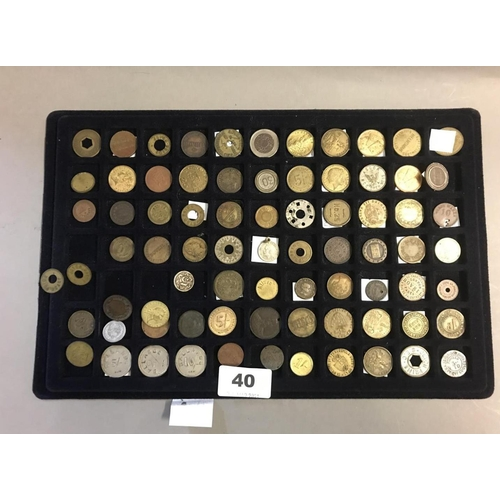 40 - Tray of Tokens