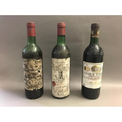 8 - Three Bottles of Vintage Wine