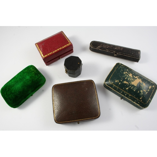 1650 - A QUANTITY OF ASSORTED JEWELLERY BOXES