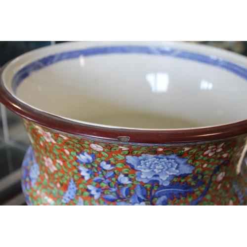 1675 - RARE SPODE POT POURRI COVER & LINER - GROUPS PATTERN a large and rare pot pourri circa 1815-1820, wi...