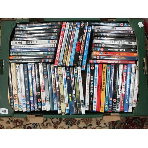 1240 - QUANTITY OF DVDS...