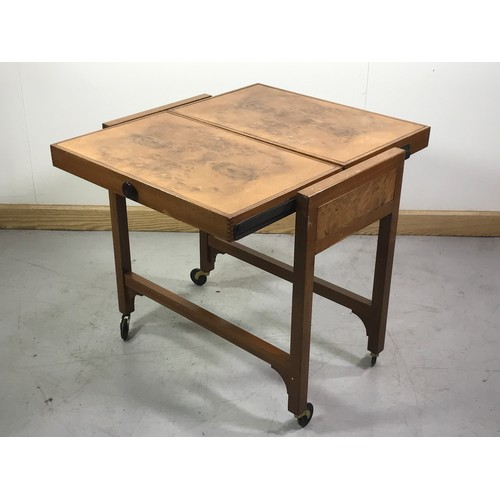 1023 - LATE CENTURY METAMORPHIC TROLLEY, LABELLED BESWAY