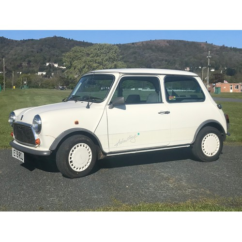 24 - 1987 SPECIAL EDITION AUSTIN MINI ADVANTAGE, TENNIS THEMED WITH SPACE SET OF ORIGINAL DECALS, LOW MIL...