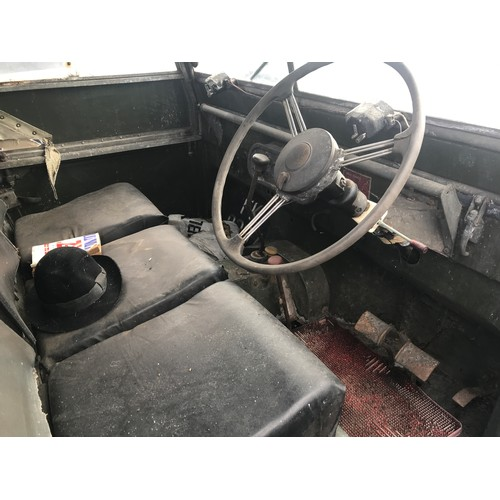 16 - SERIES 1 LAND ROVER GNR 103, MK 1, FIRST REGISTERED 23.10.1950, PETROL  The successful bidder must p...
