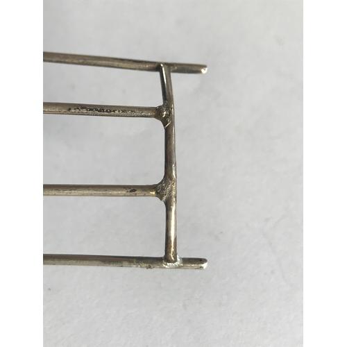 48 - An Edwardian novelty silver pin cushion, Williams Ltd, Birmingham 1909, designed as a spindle back c...