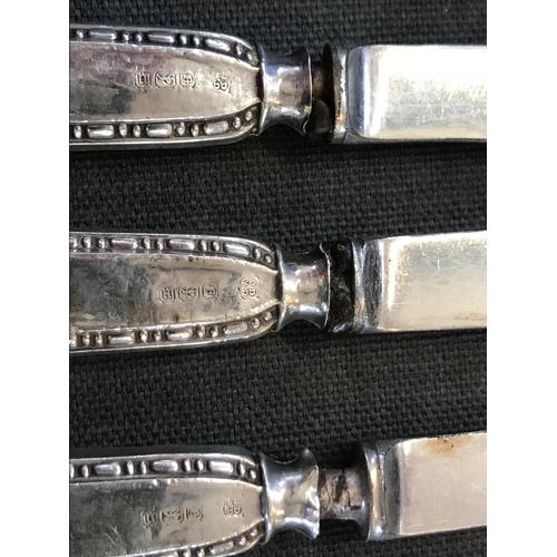 18 - A 20th century silver cased condiment set, S Blanckensee & Son Ltd, Birmingham 1931, comprising, sil...