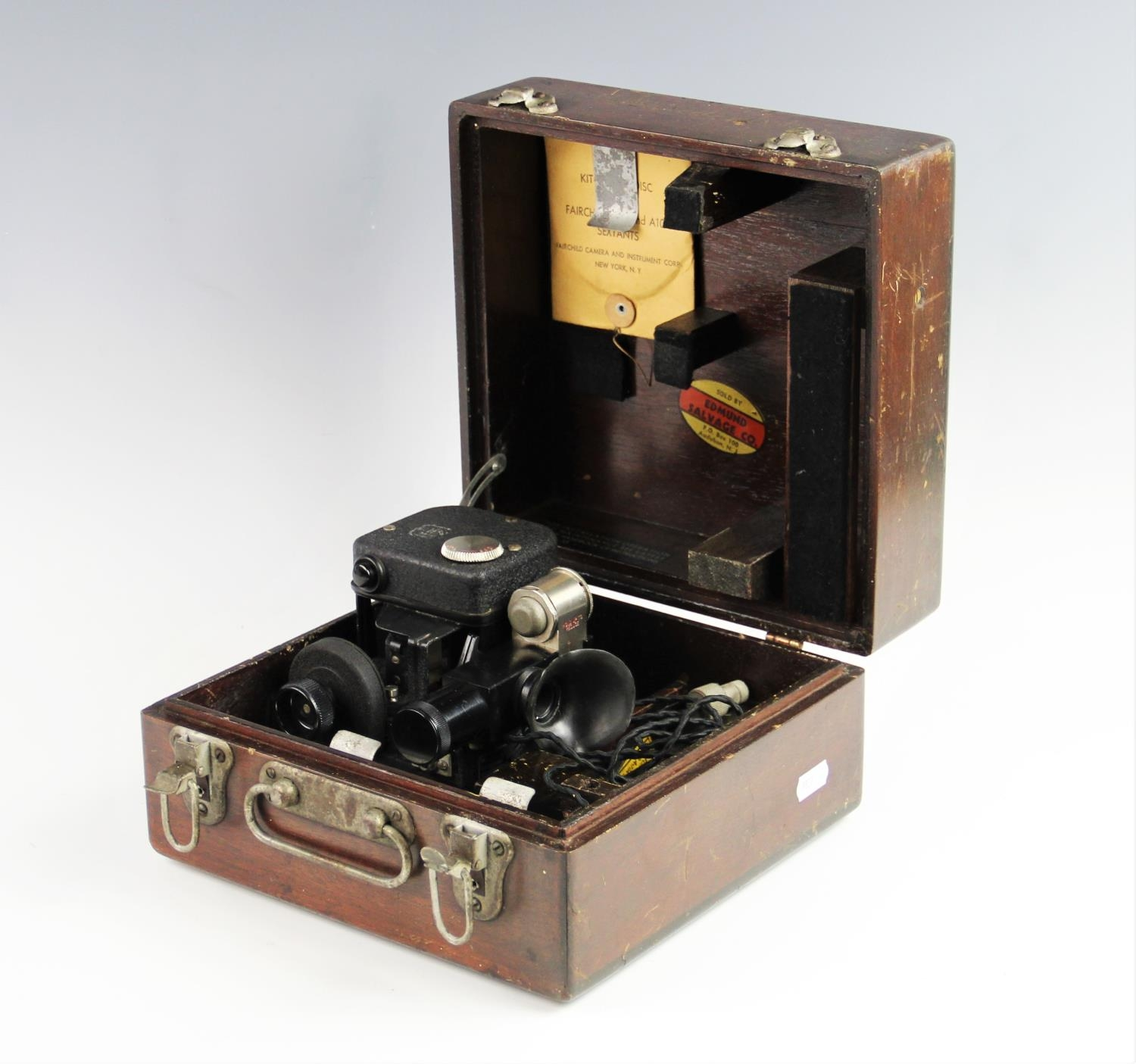 A cased Fairchild Camera And Instrument ...