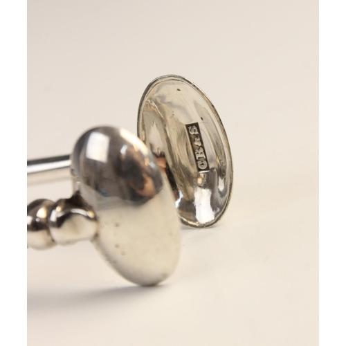 7 - A pair of unusual Victorian Scottish silver sugar nips by Charles Robb & Sons, Edinburgh 1856, with ...