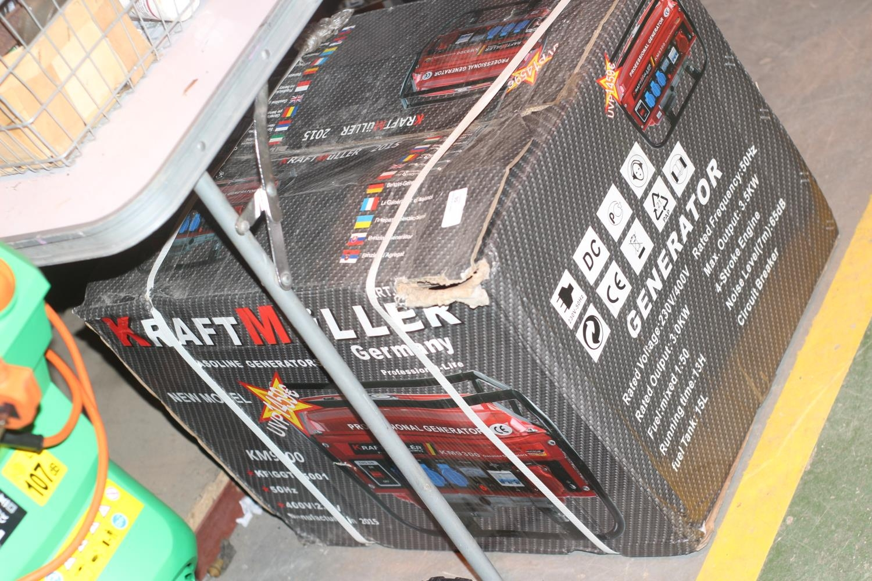 Kraft Muller KM 9300 Generator, 3 Phase, 240V, Brand New in box