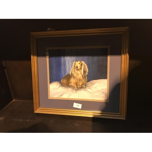 658 - Dog print...