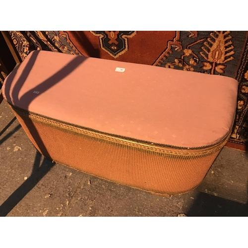 662 - Pink Lloyd loom ottoman...