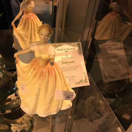 352 - Royal Doulton figurine Deborah
