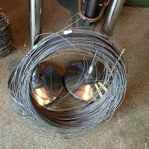 35 - Roll of tensioning fencing wire...