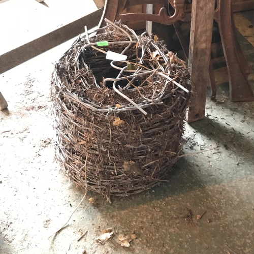 37 - Roll of barbed wire...