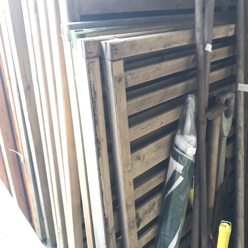 7 - 4x 3ft fence panels...