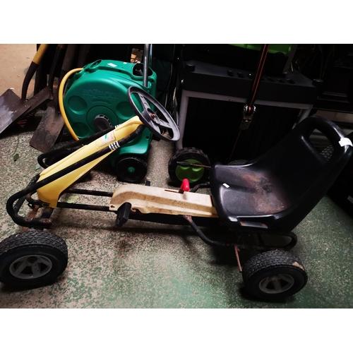 135 - Kettler Orginal Kettcar Go-Cart...