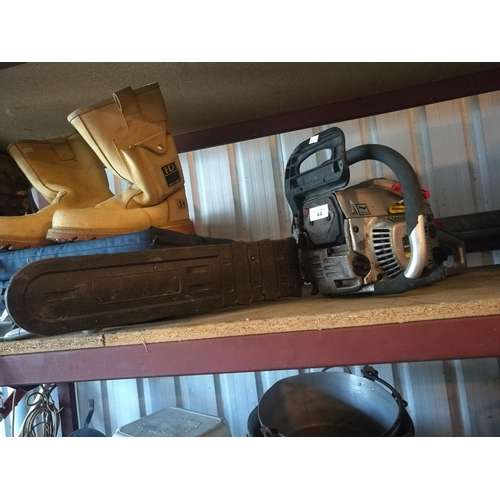 44 - Spear and jackson chainsaw - untested...