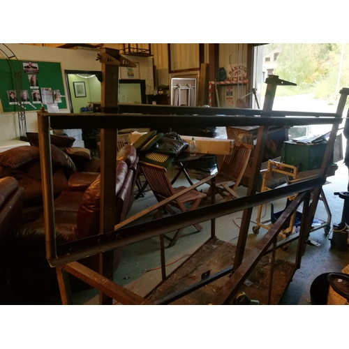 5 - Steel ford transit connect van roof rack Approx. 7'x4...