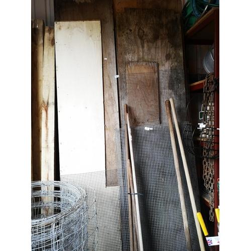 30 - Job lot of mixed 8' long boards...