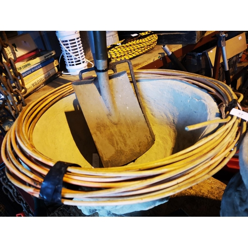 37 - Reel of fire resistant 3 core cable...