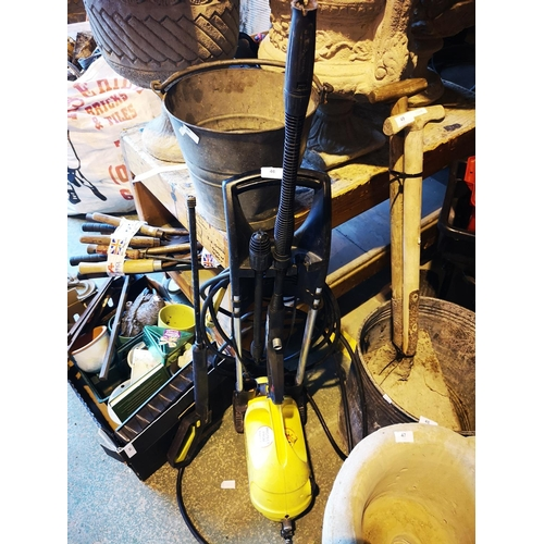 46 - Karcher pressure washer with two lances - untested...