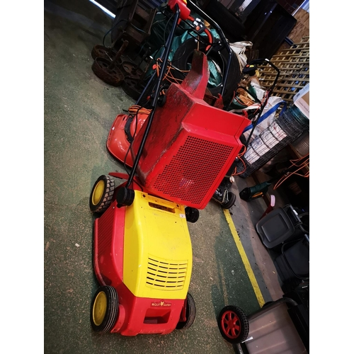 30 - Wolf gareten rotary electric mower...