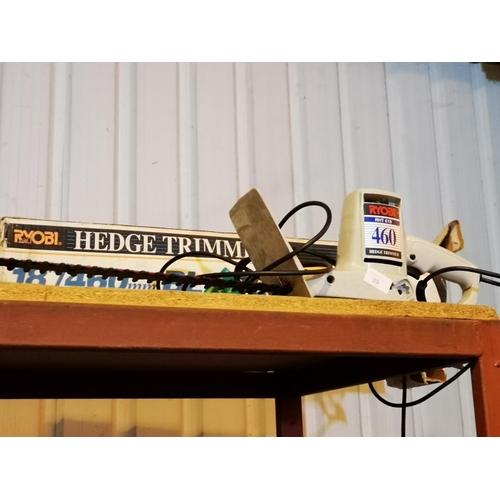 39 - Ryobi 460 electric hedge trimmer...