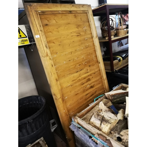 42 - Wooden ledge and brace garden gate approx 6' x 3'...
