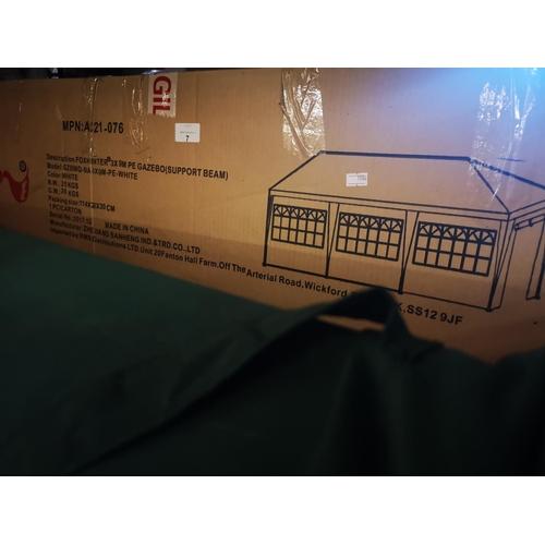 7 - Foxhunter 3 x 9 meter gazebo boxed...