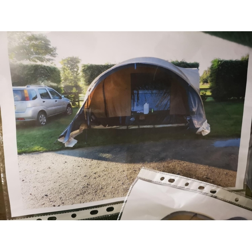 1 - Cabanon tabora Trailer tent, excellent condition guaranteed and complete with awning- only 2 years o...