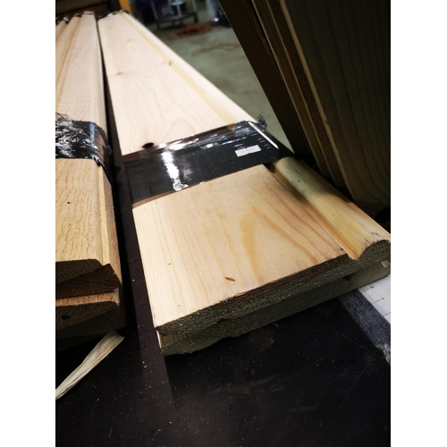 11 - Two 2.1m lengths of 6'' skirting board...
