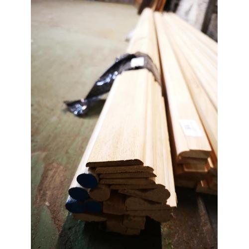 16 - Bundle of 2.1m pine architrave...