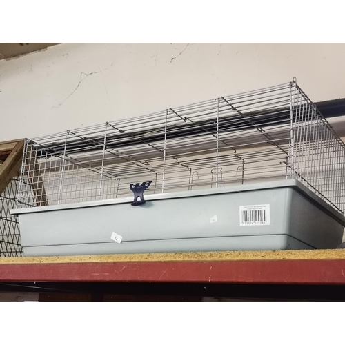 52 - Large indoor rabbit or guinea pig cage...