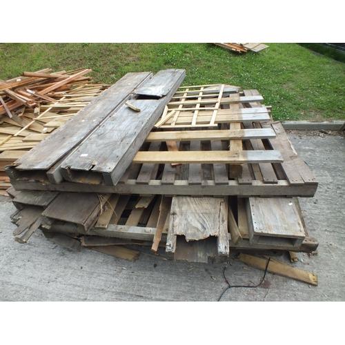 2 - Five 5 x 5 pallets and pallet parts...