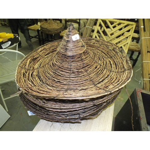 34 - Collection of sombrero planters...