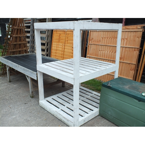 4a - Large pallet rack / display stand...