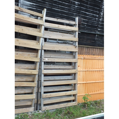 10b - Wood Ladder Panel x2...