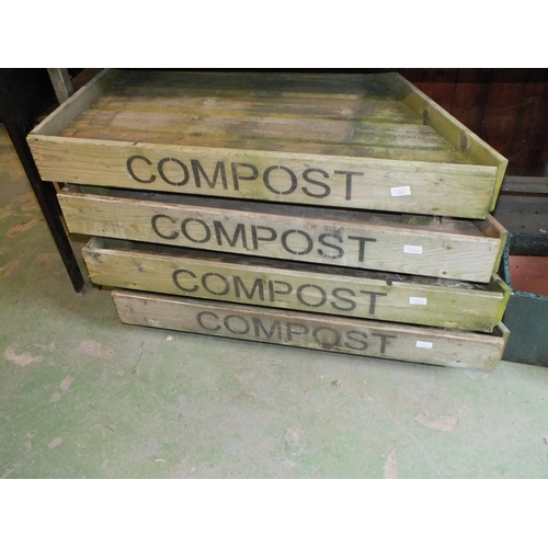 23A - Wood Compost bed (1 only)...
