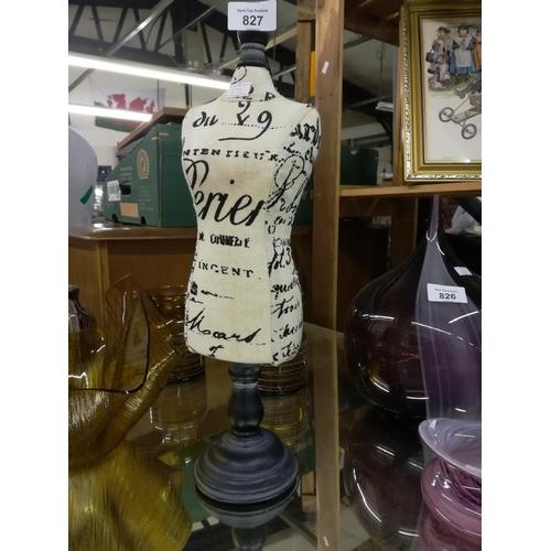 827 - Small dressmaking mannequin...