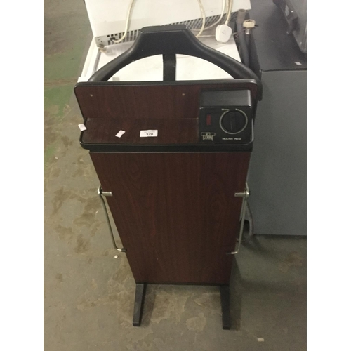 328 - Corby trouser press and jacket holder....