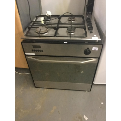 333 - Built in gas oven, working....