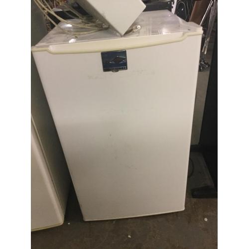 338 - White under counter fridge...
